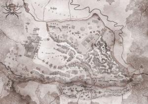 Die Karte von Gespinsterwald